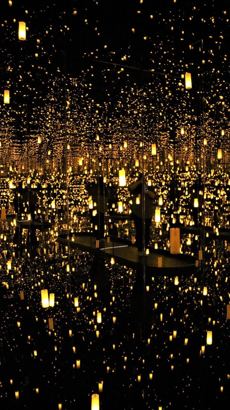 Infinity Mirrors – By Yayoi Kusama