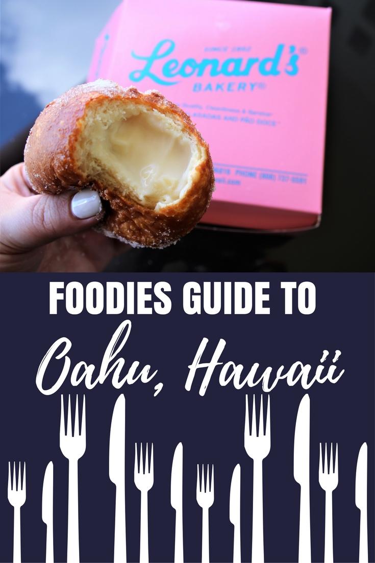 Foodies guide oahu hawaii