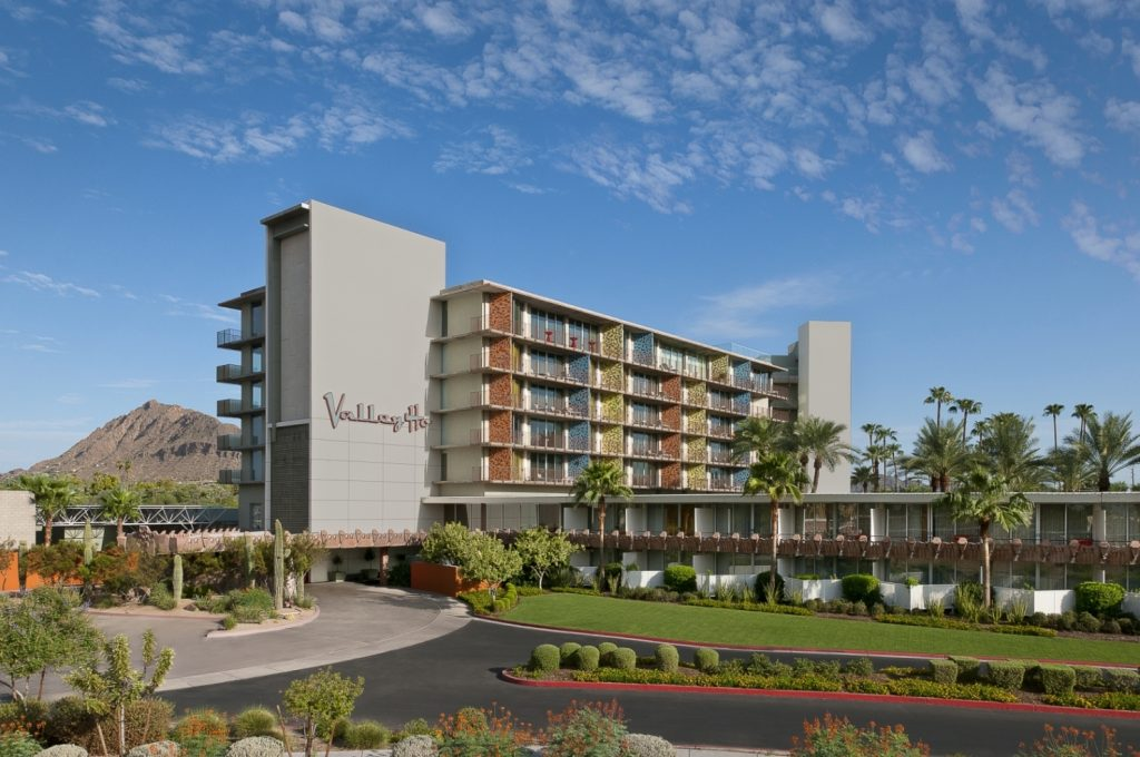 Hotel Valley Ho - Entrance