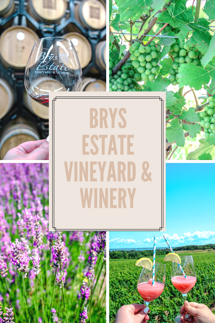 Brys Estate Vineyard and Winery is located in Traverse City, Michigan. COvering 91 acres and offering 40,000 vines to its guest. Brys Estate is the perfect winery escape while visiting Northern Michigan.