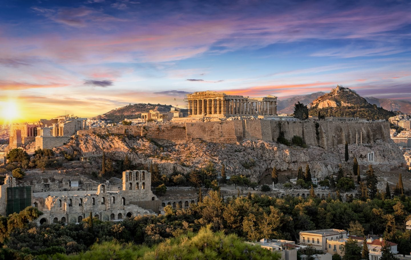 European Bucket List Greece - The Acropolis in Athens