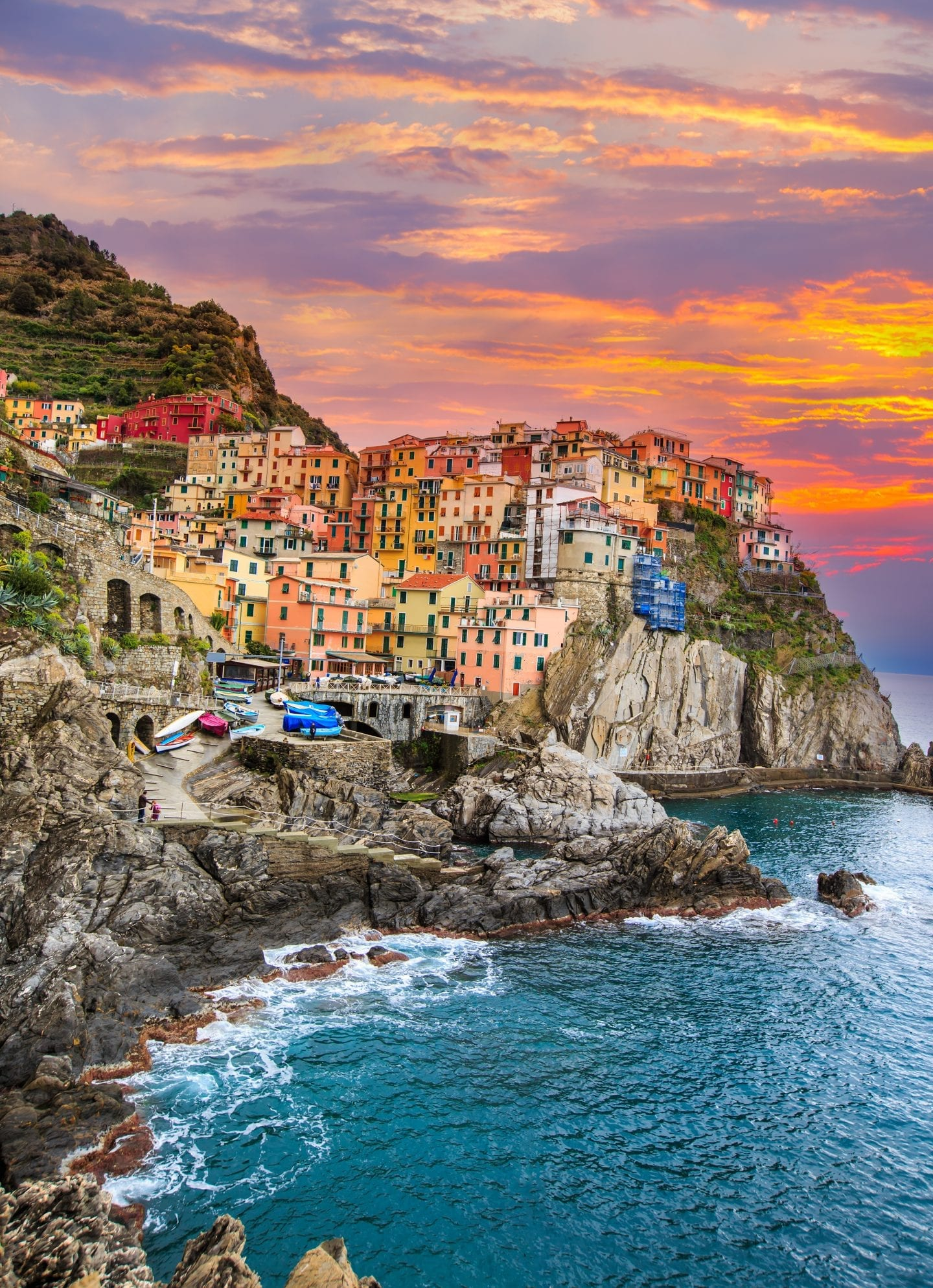 European bucket list destination, Cinque Terre Italy.