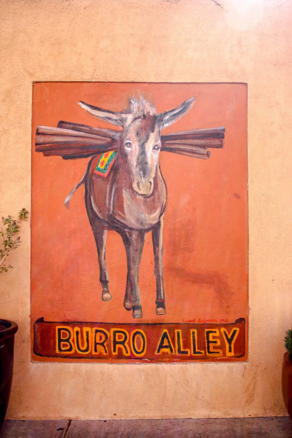 Burro Alley Santa Fe New Mexico