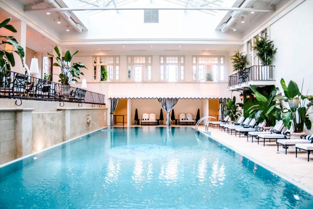 Indoor Pool - Cavalier Hotel