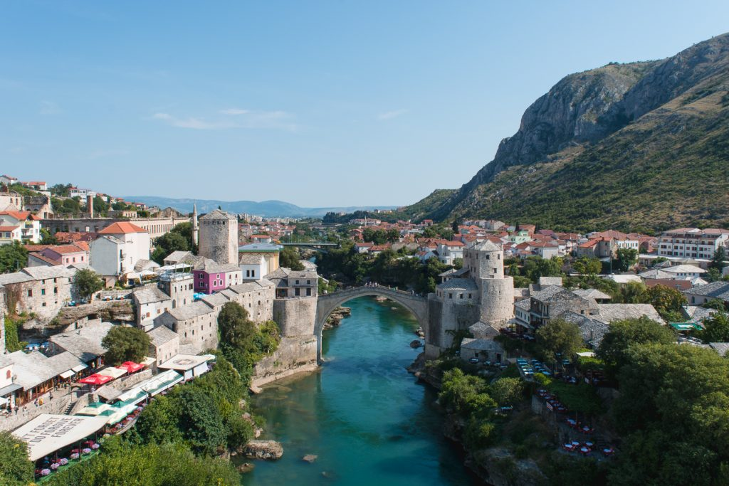 European bucket list, visiting Mostar Bosnia.