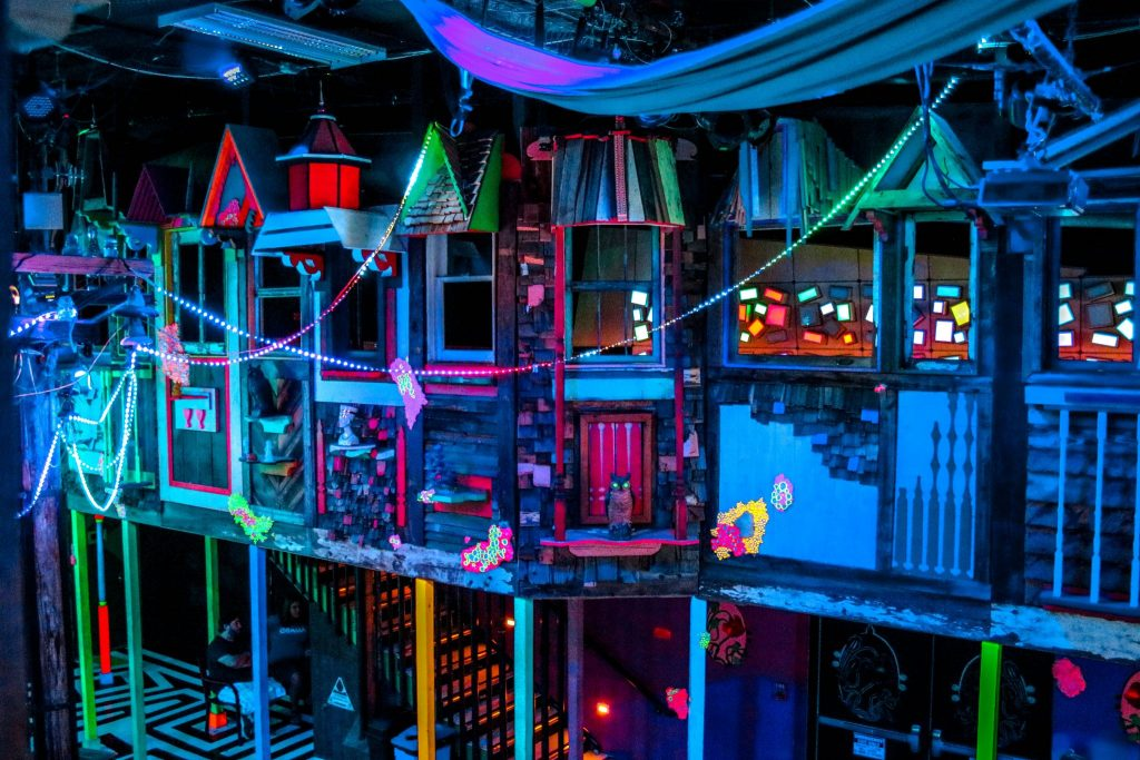 Meow Wolf Santa Fe - an immersive art experience.