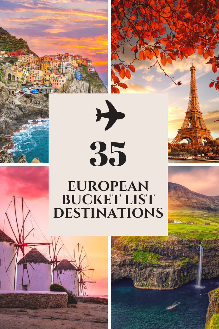 european bucket list