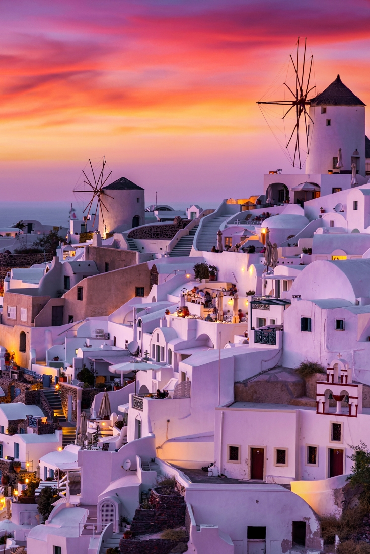European bucket list destination, Santorini
