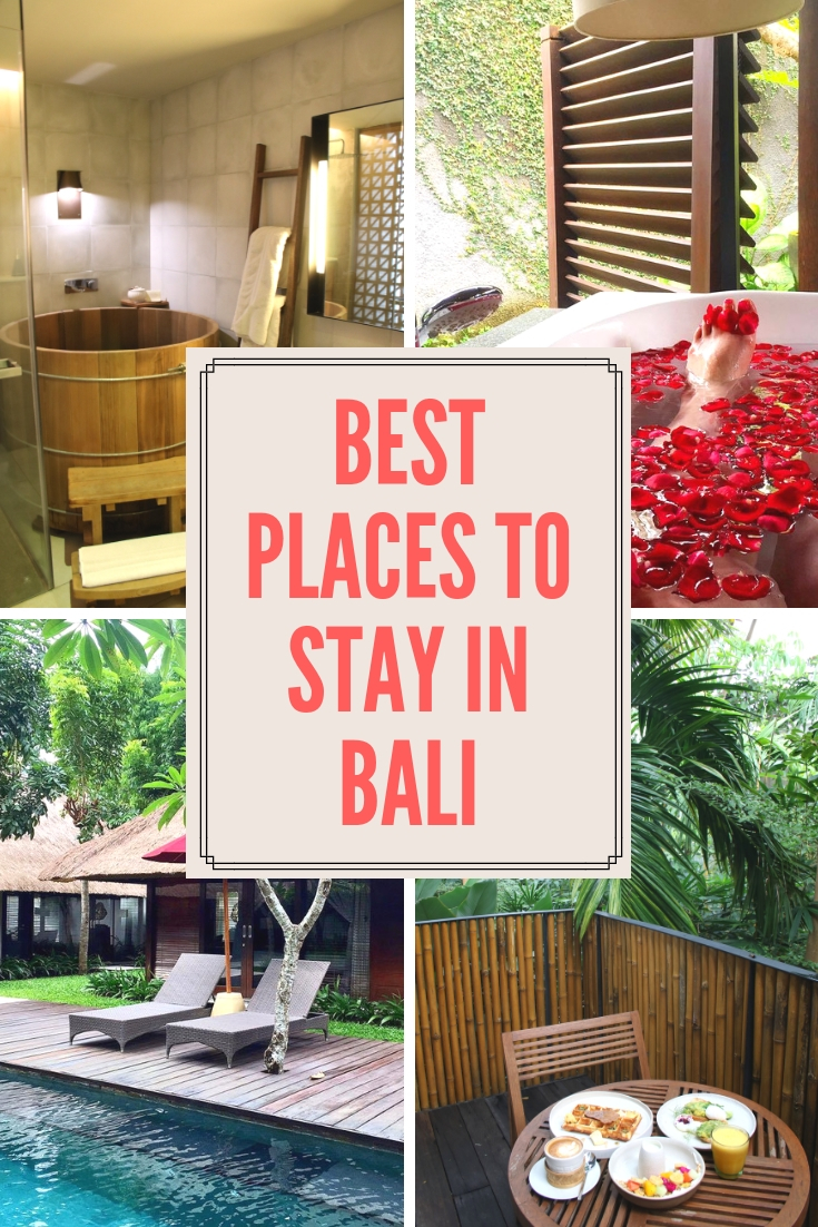 Best places to stay in Bali as told by travel bloggers! These are their favorites.