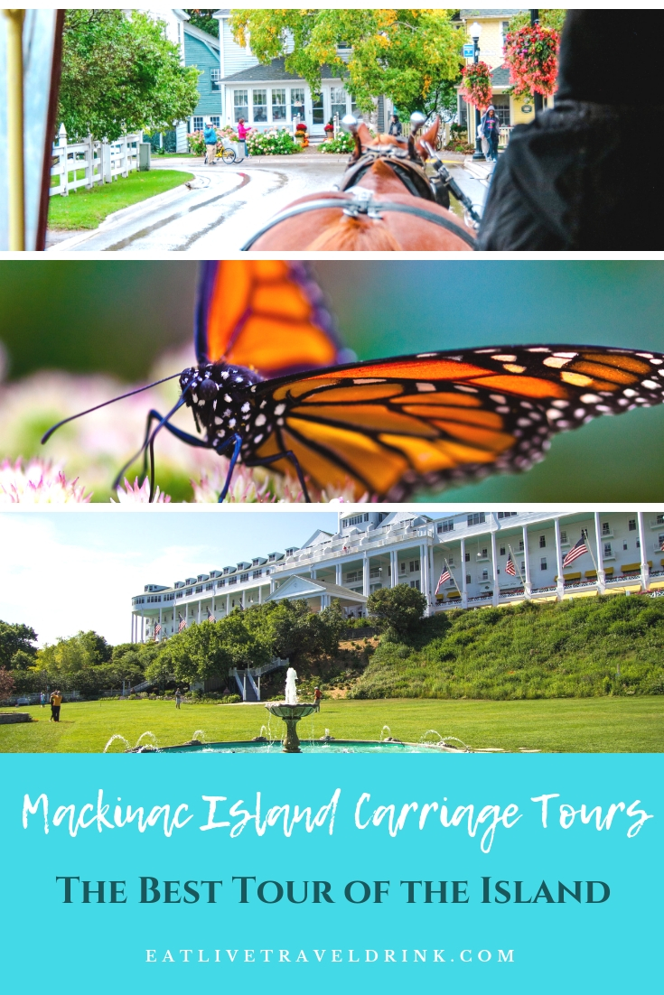 Mackinac Island Carriage Tours: dates, prices and details about all the stops on the tour.