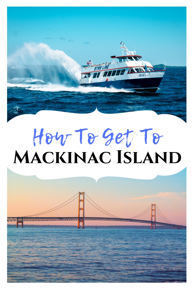 How to get to Mackinac Island: looking at transportation, costs, etc.