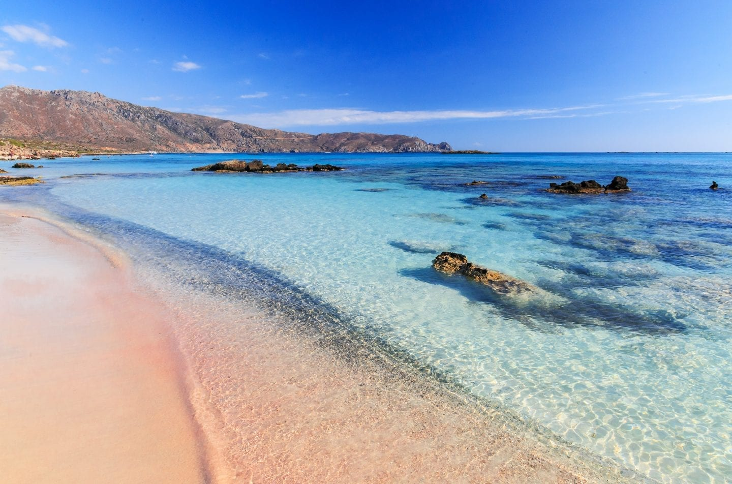 Elafonisi - one of the best beaches in crete