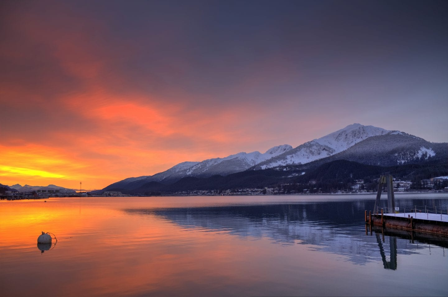 Things To Do In Juneau: watch a sunrise