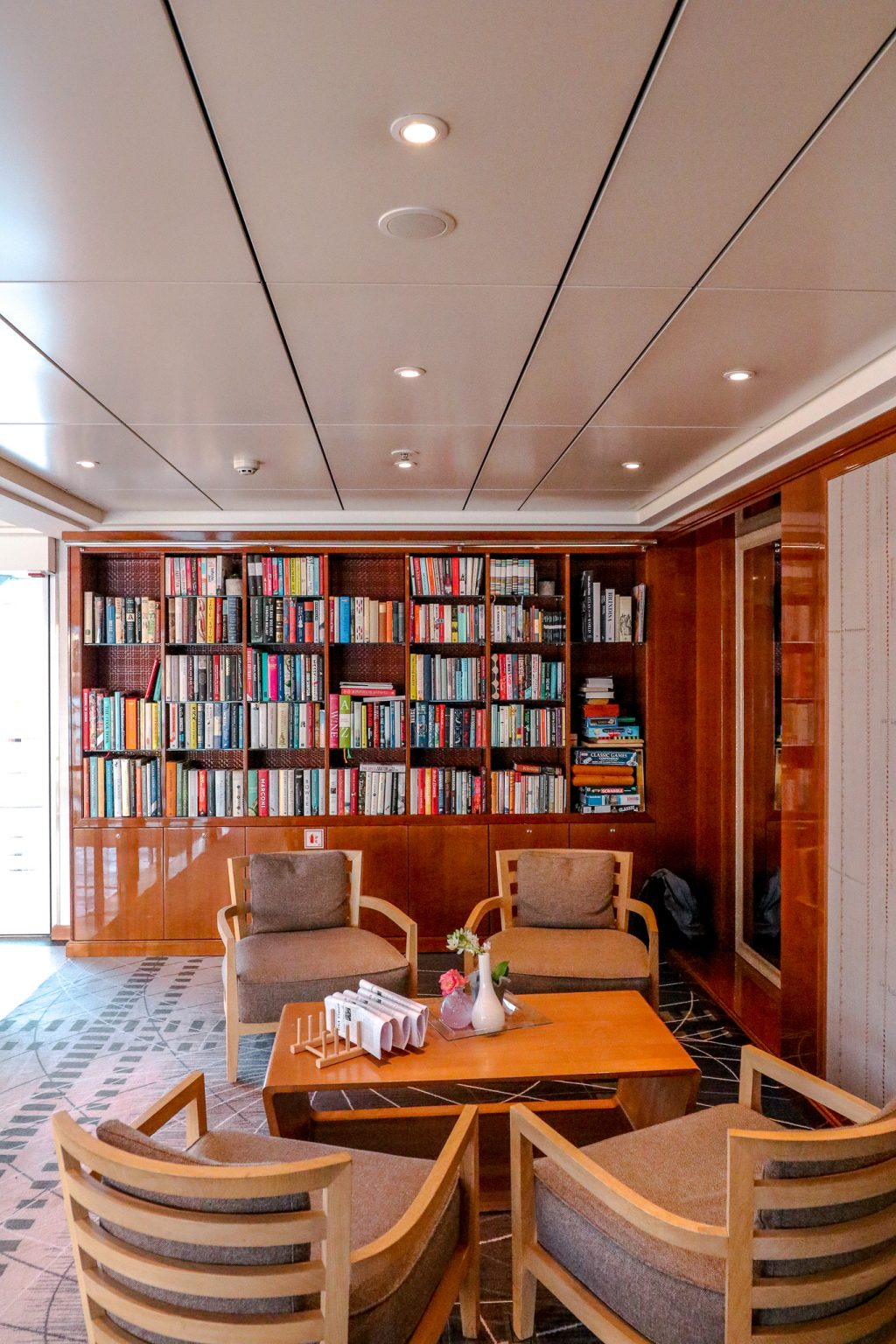 Viking Grand European Tour: library on board