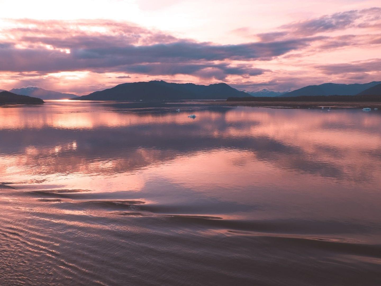photographing alaska