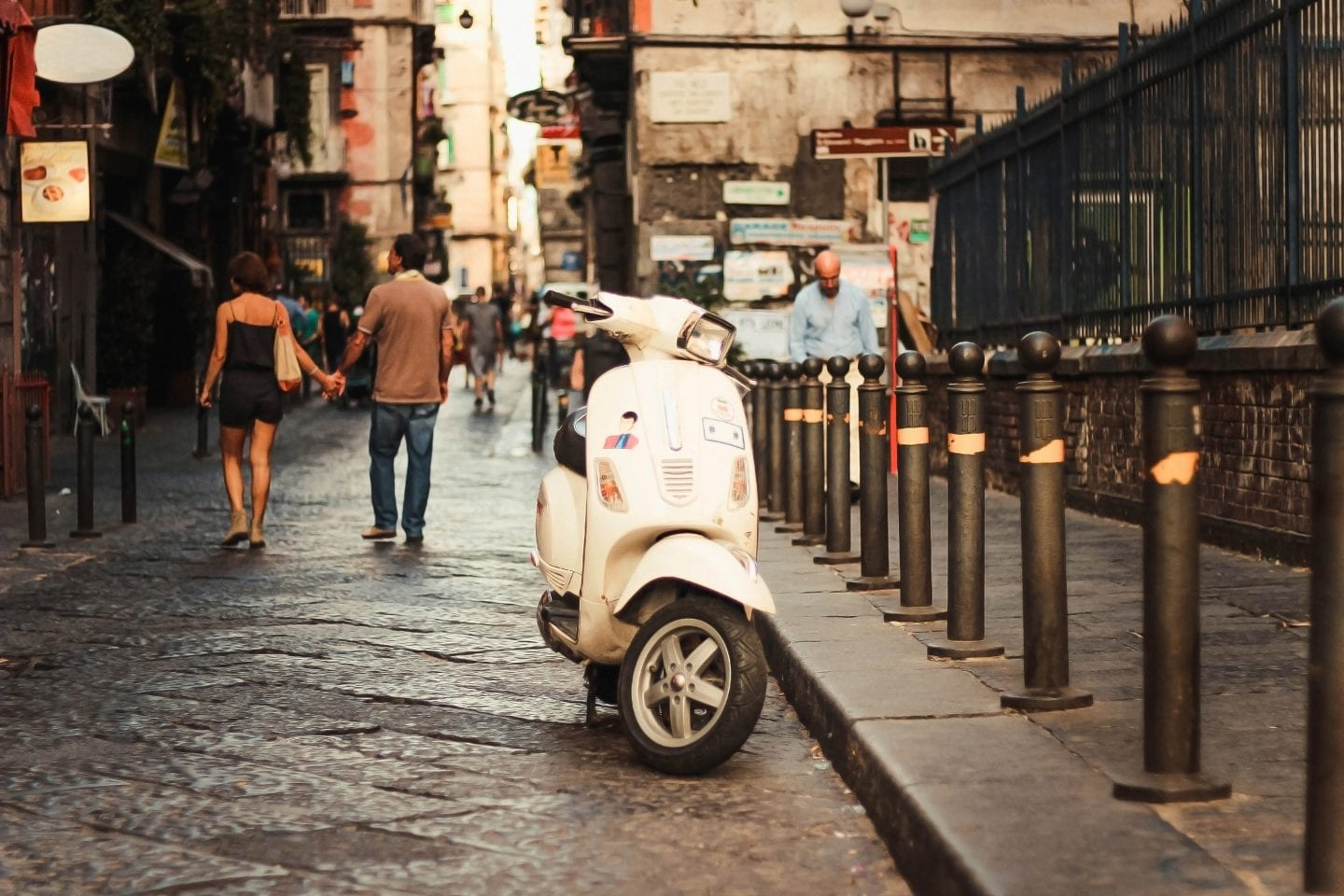 vespa in naples