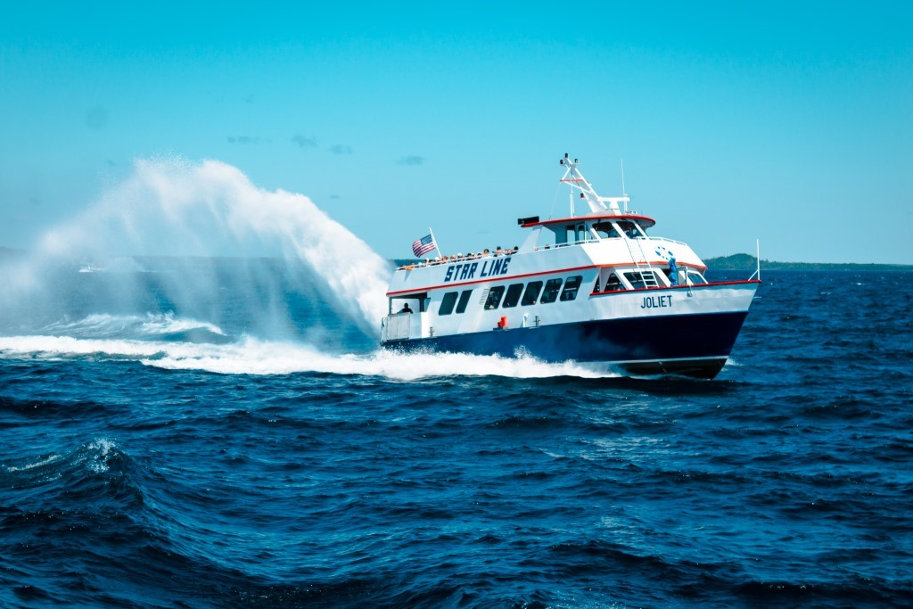 ferry to Mackinac