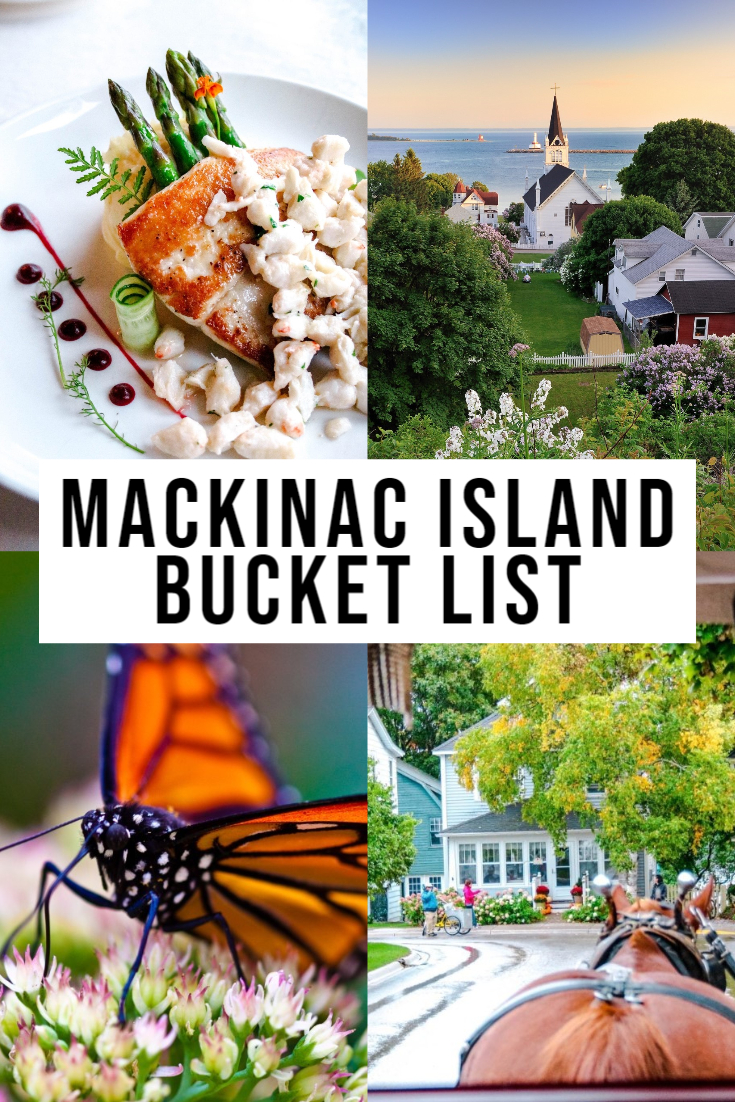 Ultimate Mackinac Island Bucket List!