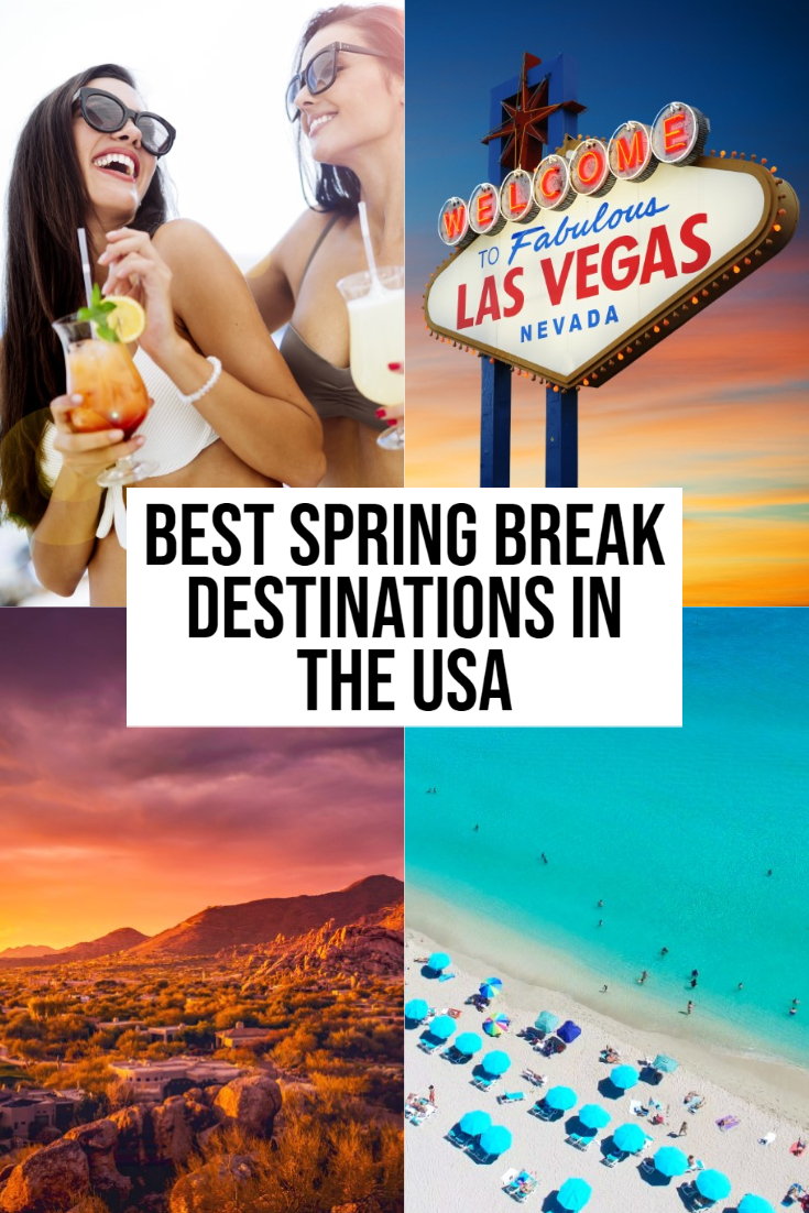 spring break destinations in the usa