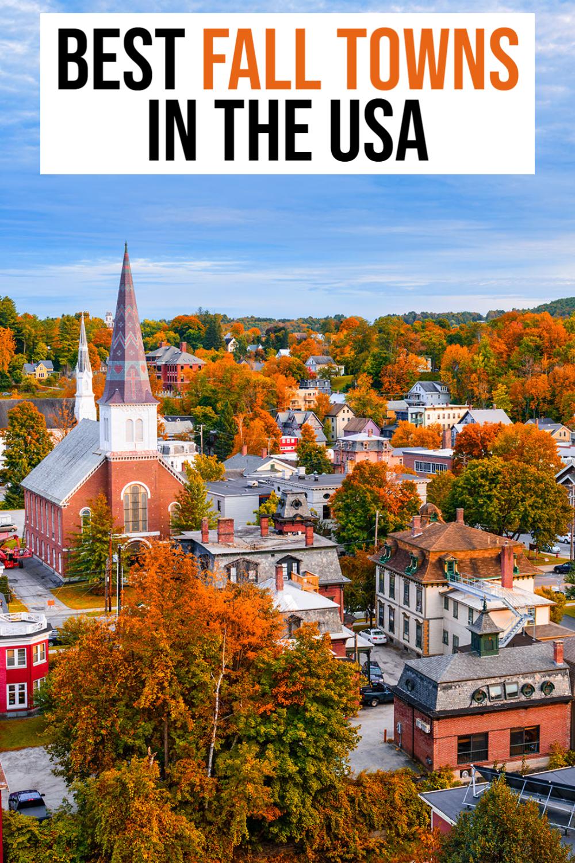 fall towns usa